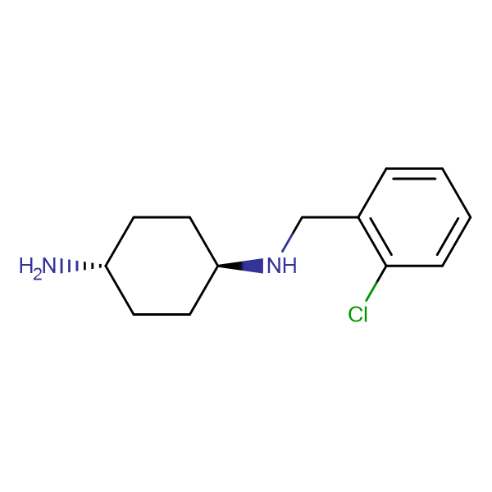 (1R,4R)-N-(2-Chloro-benzyl)-cyclohexane-1,4-diamine