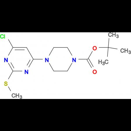 4-(6-Chloro-2-methylsulfanyl-pyrimidin-4-yl)-piperazine-1-carboxylic acid tert-butyl ester