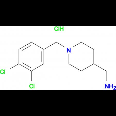 C-[1-(3,4-Dichloro-benzyl)-piperidin-4-yl]-methylamine hydrochloride