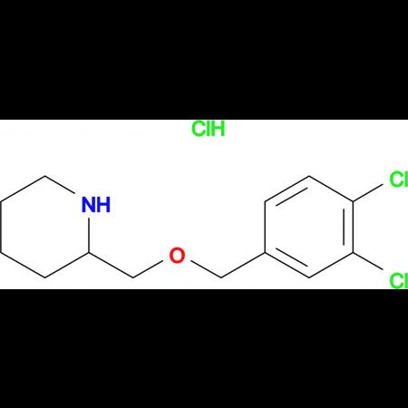 2-(3,4-Dichloro-benzyloxymethyl)-piperidine hydrochloride