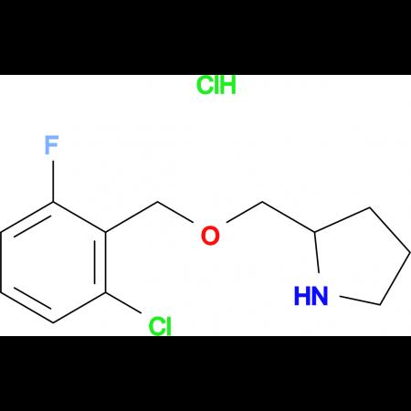 2-(2-Chloro-6-fluoro-benzyloxymethyl)-pyrrolidine hydrochloride