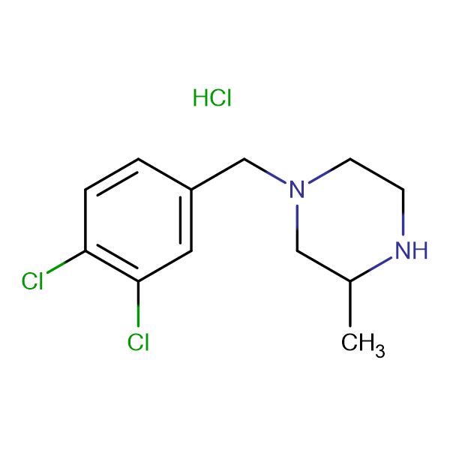1-(3,4-Dichloro-benzyl)-3-methyl-piperazine hydrochloride