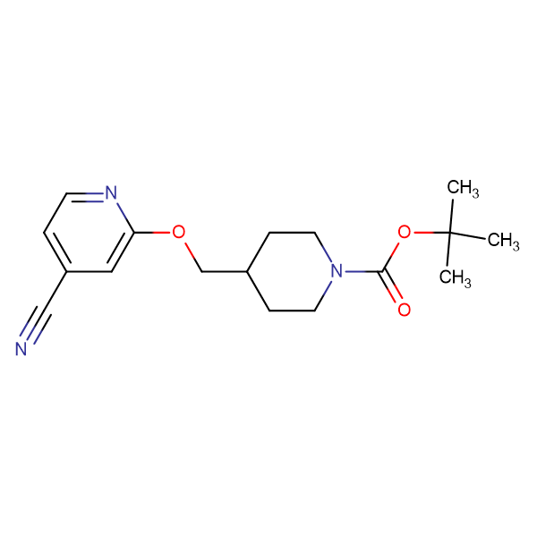4-(4-Cyano-pyridin-2-yloxymethyl)-piperidine-1-carboxylic acid tert-butyl ester