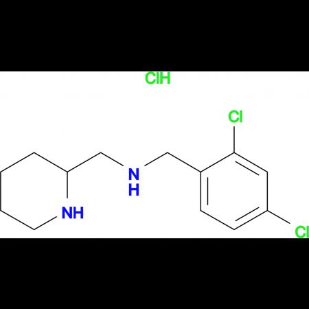 (2,4-Dichloro-benzyl)-piperidin-2-ylmethyl-amine hydrochloride