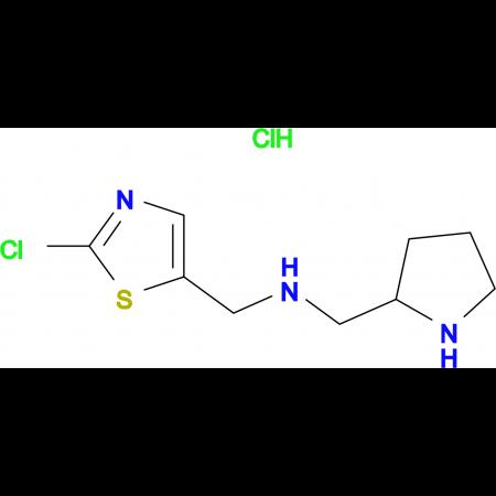 (2-Chloro-thiazol-5-ylmethyl)-pyrrolidin-2-ylmethyl-amine hydrochloride