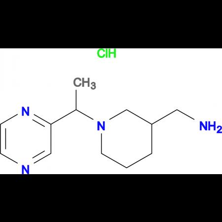 C-[1-(1-Pyrazin-2-yl-ethyl)-piperidin-3-yl]-methylamine hydrochloride