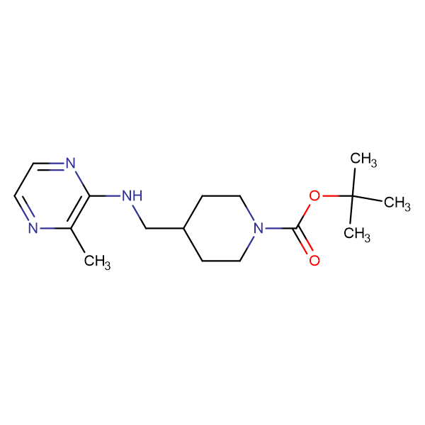 4-[(3-Methyl-pyrazin-2-ylamino)-methyl]-piperidine-1-carboxylic acid tert-butyl ester