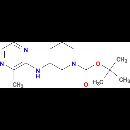 3-(3-Methyl-pyrazin-2-ylamino)-piperidine-1-carboxylic acid tert-butylester