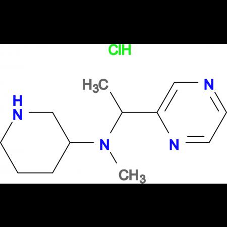 Methyl-piperidin-3-yl-(1-pyrazin-2-yl-ethyl)-amine hydrochloride