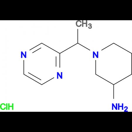 1-(1-Pyrazin-2-yl-ethyl)-piperidin-3-ylamine hydrochloride