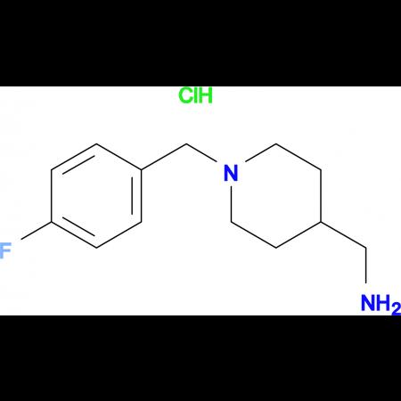 C-[1-(4-Fluoro-benzyl)-piperidin-4-yl]-methylamine hydrochloride