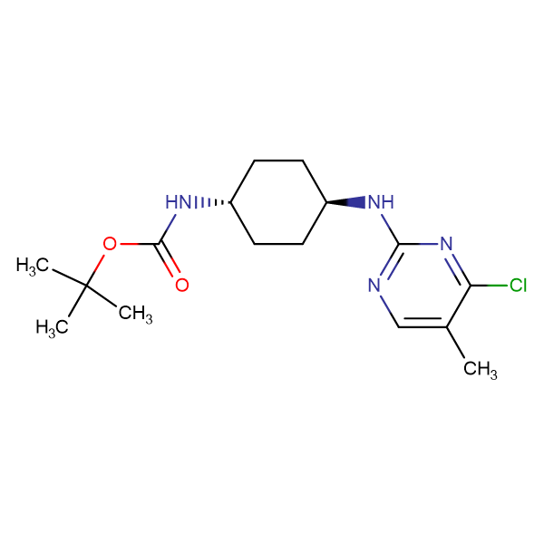 (1R,4R)-[4-(4-Chloro-5-methyl-pyrimidin-2-ylamino)-cyclohexyl]-carbamic acid tert-butyl ester