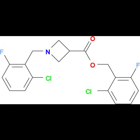 1-(2-Chloro-6-fluoro-benzyl)-azetidine-3-carboxylic acid 2-chloro-6-fluoro-benzyl ester