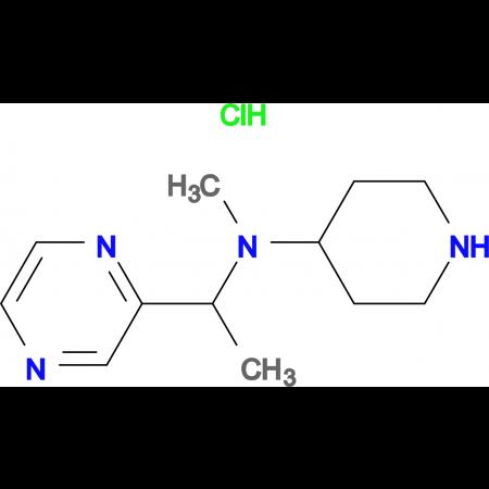 Methyl-piperidin-4-yl-(1-pyrazin-2-yl-ethyl)-amine hydrochloride