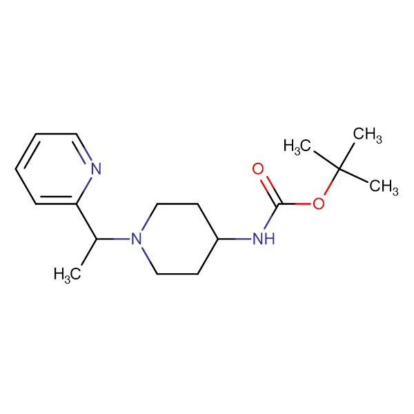 [1-(1-Pyridin-2-yl-ethyl)-piperidin-4-yl]-carbamic acid tert-butyl ester