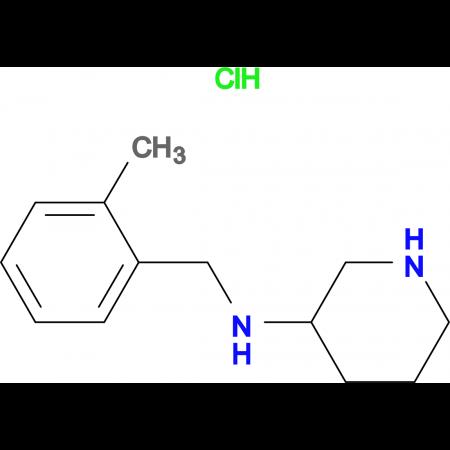 (2-Methyl-benzyl)-piperidin-3-yl-amine hydrochloride hydrochloride