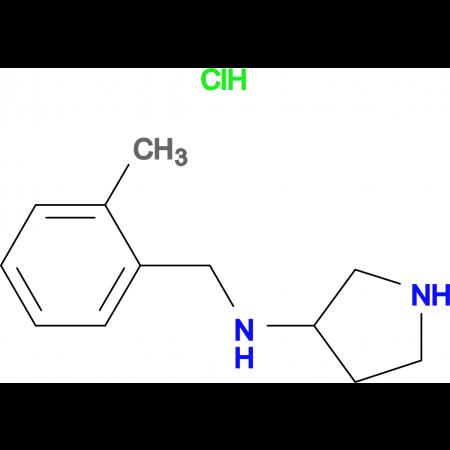 (2-Methyl-benzyl)-pyrrolidin-3-yl-amine hydrochloride