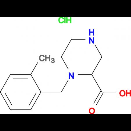 1-(2-Methyl-benzyl)-piperazine-2-carboxylic acid hydrochloride