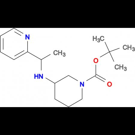 3-(1-Pyridin-2-yl-ethylamino)-piperidine-1-carboxylic acid tert-butyl ester