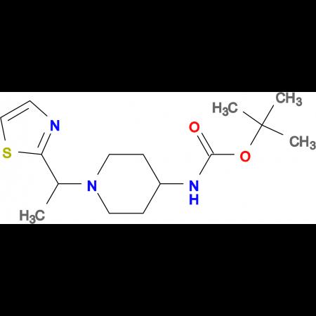 [1-(1-Thiazol-2-yl-ethyl)-piperidin-4-yl]-carbamic acid tert-butyl ester