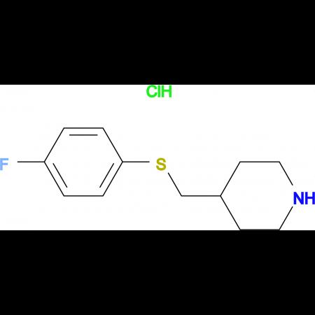 4-(4-Fluoro-phenylsulfanylmethyl)-piperidine hydrochloride