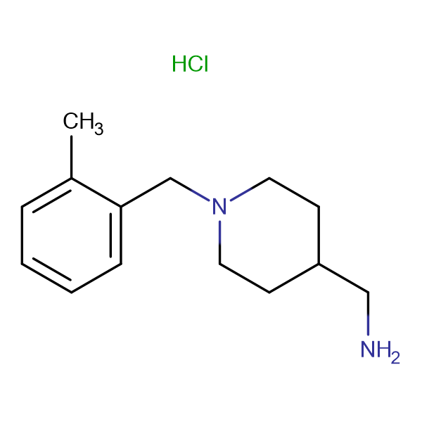 C-[1-(2-Methyl-benzyl)-piperidin-4-yl]-methylamine hydrochloride