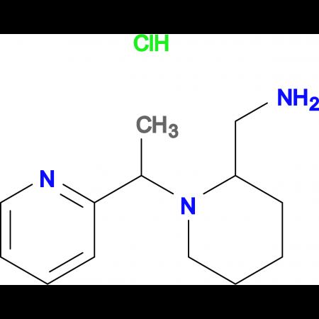 C-[1-(1-Pyridin-2-yl-ethyl)-piperidin-2-yl]-methylamine hydrochloride