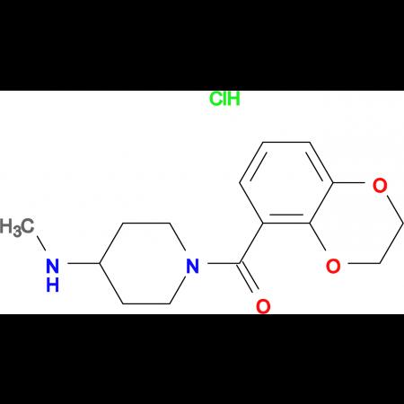(2,3-Dihydro-benzo[1,4]dioxin-5-yl)-(4-methylamino-piperidin-1-yl)-methanone hydrochloride