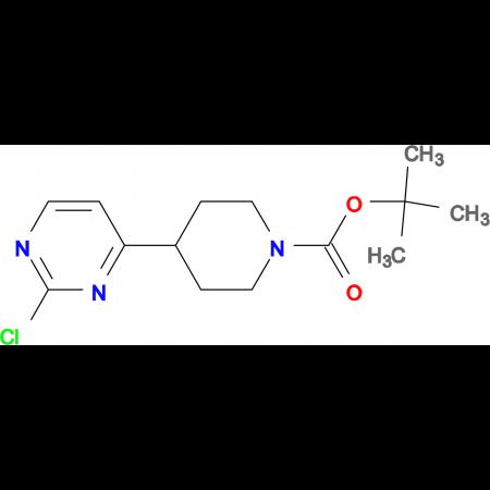 tert-Butyl 4-(2-chloropyrimidin-4-yl)piperidine-1-carboxylate