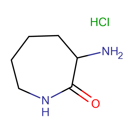 3-Aminoazepan-2-one hydrochloride