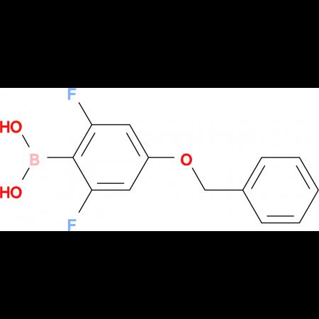 (4-(Benzyloxy)-2,6-difluorophenyl)boronic acid
