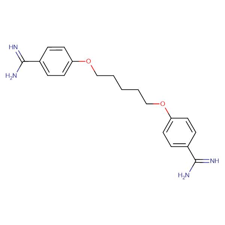 4,4'-(Pentane-1,5-diylbis(oxy))dibenzimidamide