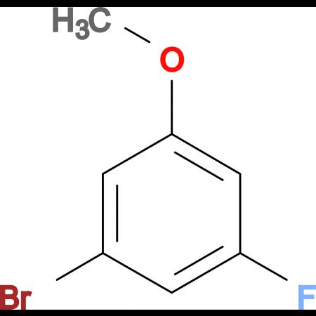 3-Bromo-5-fluoro-1-methoxybenzene