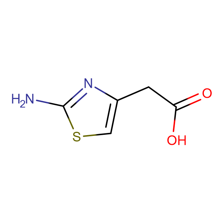 2-(2-Aminothiazol-4-yl)acetic acid