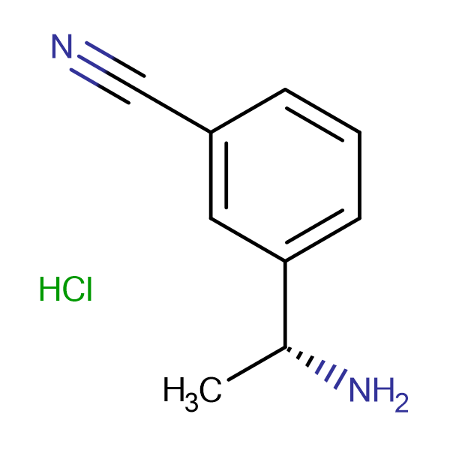 (R)-3-(1-Aminoethyl)benzonitrile hydrochloride