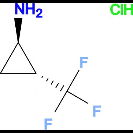trans-2-(Trifluoromethyl)cyclopropylamine hydrochloride