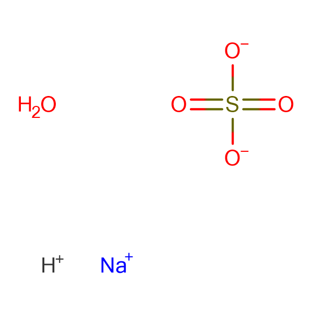 Sodium bisulfate monohydrate