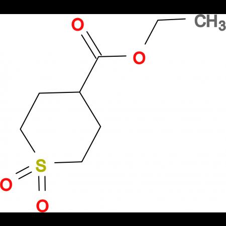 Ethyl 1,1-dioxo-1lambda(6)-thiane-4-carboxylate