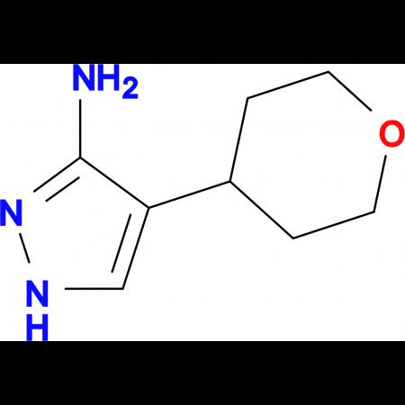 4-(Tetrahydro-2H-pyran-4-yl)-1H-pyrazol-3-amine