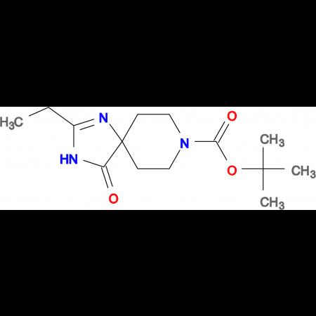 tert-Butyl 2-ethyl-4-oxo-1,3,8-triazaspiro[4.5]dec-1-ene-8-carboxylate