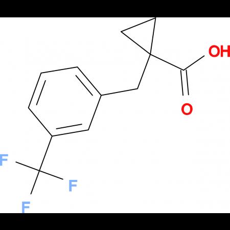 1-[3-(Trifluoromethyl)benzyl]cyclopropane-carboxylic acid