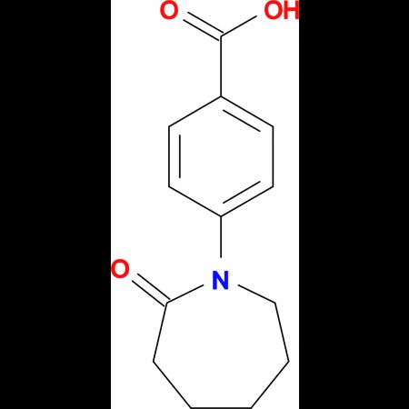 4-(2-Oxoazepan-1-yl)benzoic acid