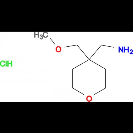 [4-(Methoxymethyl)oxan-4-yl]methanaminehydrochloride