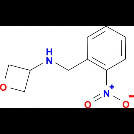 N-[(2-Nitrophenyl)methyl]oxetan-3-amine