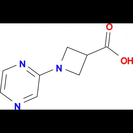 1-(Pyrazin-2-yl)azetidine-3-carboxylic acid