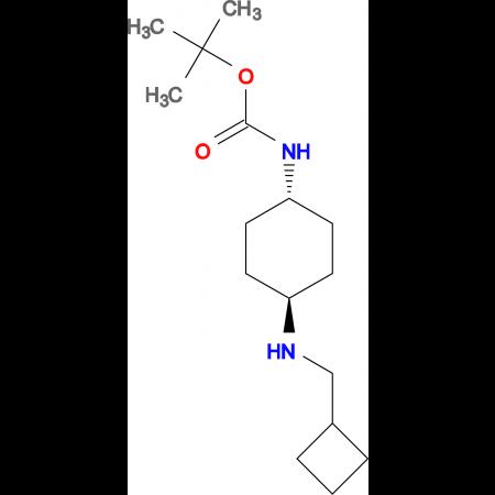 tert-Butyl (1R*,4R*)-4-[(cyclobutylmethyl)amino]cyclohexylcarbamate