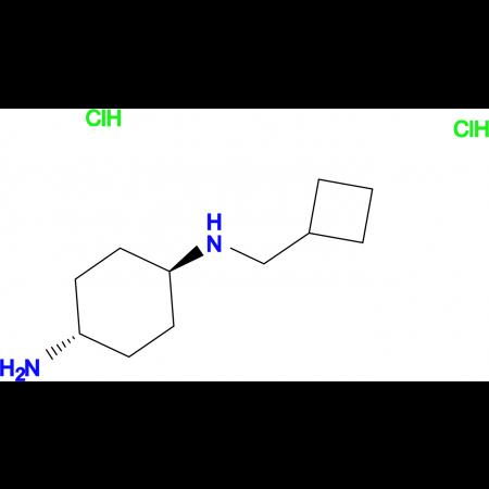 (1R*,4R*)-N1-(Cyclobutylmethyl)cyclohexane-1,4-diamine dihydrochloride