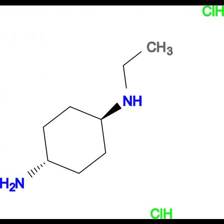 (1R*,4R*)-N1-Ethylcyclohexane-1,4-diamine dihydrochloride