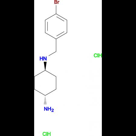 (1R*,4R*)-N1-(4-Bromobenzyl)cyclohexane-1,4-diamine dihydrochloride