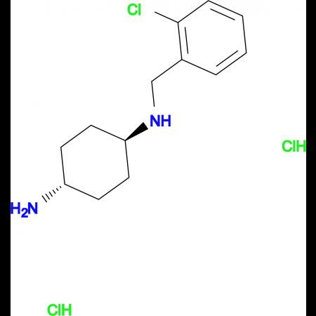 (1R*,4R*)-N1-(2-Chlorobenzyl)cyclohexane-1,4-diamine dihydrochloride